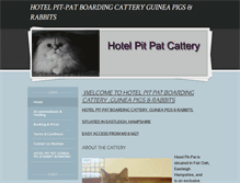 Tablet Preview of hotelpitpat.co.uk